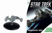 Star Trek The Official Starships Collection #73 Borg Renegades' Ship